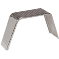 Single Fender, Aluminum Tread Plate, 12x36