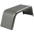 "Single Fender, Smooth Aluminum, 8""x15""x30"", Powder Coated (Ships from Indiana only)"