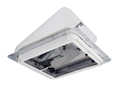 "Roof Vent, White, 12v Fan, 14""x14"""