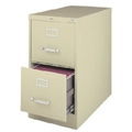 2-Drawer File Cabinet,: Light Gray
